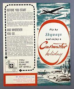 SKYWAYS COACH-AIR CARMASTER VINTAGE AIRLINE BROCHURE