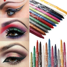 Pro Beauty Eye Shadow Eyeliner Glitter Lip liner Pencil Pen Makeup Cosmetic Set