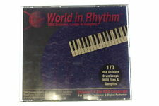 World in Rhythm R&B Collection DNA Grooves, Loops & Samples Volume 1 CD 1994 WC