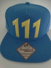 Fallout 111 Chrome Weld Bethesda Authentic Snap Back Hat Nwt