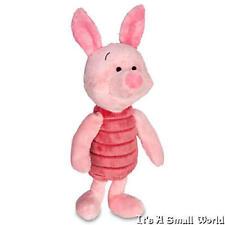 "Disney Store Piglet Plush Soft Doll Size 11"" Pooh Hundred Acre Wood NWT"
