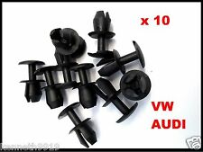 VW GOLF BORA  FRONT LAMP WASHER COMPONENT NOZZLE REPLACEMENT PLASTIC CLIPS  T90