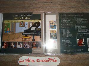 CD  SUITE TINTIN DE MATS LIDSTROM  NEUF  HERGE/MOULINSART 2007 NOMBREUX MORCEAUX