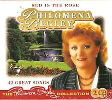 RED IS THE ROSE PHILOMENA BEGLEY 2 CD SET
