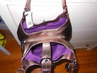 Guaranteed Authentic $398 NWT Coach Soho Leather bronze Hobo handbag F17092
