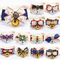 Pet Collar Bowknot Bow Tie Collar Adjustable Kitten Neckties Collar Pet Supplies