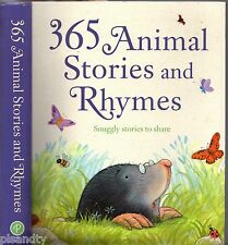 365 ANIMAL STORIES AND RHYMES Snuggly Stories To Share ILLUSTRATED KIDS BOOK