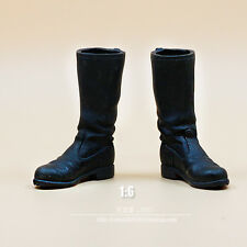 "1/6 Scale World War II German Army Boots Black For 12"" Soldier Figure"
