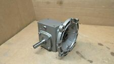 BOSTON GEAR 700 SERIES 15:1 RATIO RIGHT ANGLE GEARBOX SPEED REDUCER