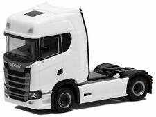 Herpa LKW Scania CR 20 HD SZM 2achs weiß