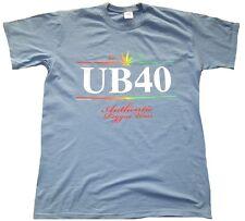 Selten Rare Official Merchandise UB 40 UB40 Concert 1980 Hanf Reggae T-Shirt M