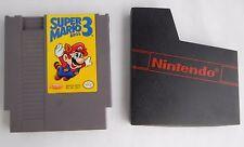 Super Mario Bros. 3 (Nintendo Entertainment System 1990) NES w dust sleeve CLEAN