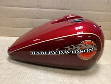 Harley Davidson FXDWG Dyna Wide Glide Fuel Tank 1995 2-Tone Victory Red Sunglo