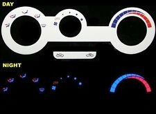 Mitsubishi Eclipse 3000GT Eagle Talon Dodge Avenger Glow AC HVAC Controls Panel