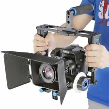 DSLR Rig Kit Camera Cage Video Support for Canon Nikon Sony etc Camera Camcorder