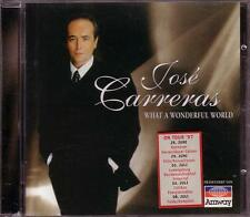 JOSÉ CARRERAS - What a wonderful World, CD