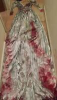 OOAK Womens Custom Zombie Corpse Bride Walking Dead Lot size 37 bust 28 Waist