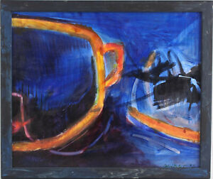 8760035 Acryl-Gemälde Schüßler Abstracción