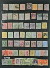 SIERRA LEONE STAMPS SELECTION ON LARGE STOCK CARD   (C23)