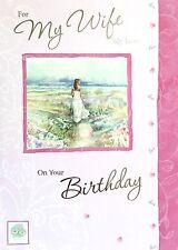 Para mi esposa mi amor en tu cumpleaños, tarjeta de felicitación