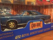 Ertl 1:18 1966 Pontiac GTO Royal Bobcat Hurst Edition 1 Of 2500 Item 36881