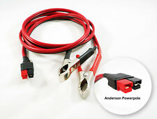 6ft 72 12v Battery Alligator Clamp Cable Fits Anderson Powerpole Clip On 45amp