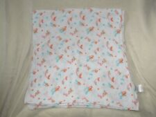 Manhattan Kids Vintage Muslin Swaddle Blanket 100% Cotton Mermaid