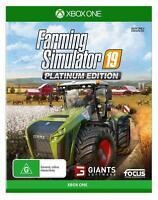 Farming Simulator 19 Platinum Edition XBox One Farm Sim Game Microsoft XB1 S X