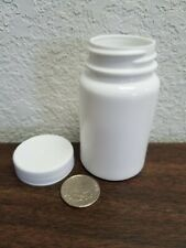 100 cc White Plastic HDPE Bottles With Cap 100 count pack Brand New Bulk Pack