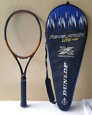 Dunlop Revelation Tour Pro Exact midplus 95 41/8Grip Tennis Racquet rev lite bag