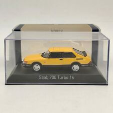 Norev 1:43 Saab 900 Turbo 16 Diecast Models Limited Edition Collection Yellow