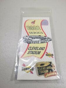Sunoco Cleveland Indians Stadium Pin.  1993 Commemorative Series.