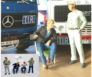 +++ Auf Achse Franz Meersdonk o. Günther Willers Road Kings Figuren 1:18 +++