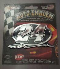 Jeff Gordon #24 NASCAR Auto Emblem