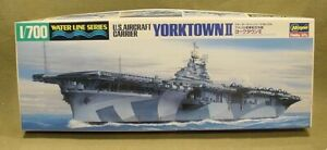 HASEGAWA U.S. AIRCRAFT CARRIER YORKTOWN II MODEL SHIP KIT 1/700 SCALE
