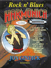 Rock N Blues Harmonica Learn How to Play Beginner Harp Lessons Music Book Cd