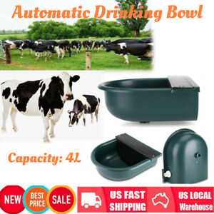Automatic Water Trough Bowl 4L Horse Cow Pet Dog Sheep Goat Auto Bowl Feeder