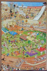 The Olympics Jan van Haasteren jigsaw puzzle 1000 pc