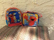 ELMO LUNCHBOX & BACKPACK SET. BRAND NEW!
