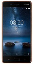 "Nokia 8 64GB 4GB Dual Sim 5.3"" Unlocked Android Smartphone-Polished Copper/Braun"