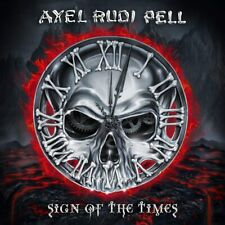 AXEL RUDI PELL - SIGN OF THE TIMES CD ALBUM NEW PHD (24TH APR)