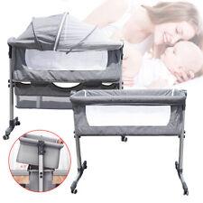 Portable Newborn Baby Bassinet Crib Cradle Bed Side Sleeper Nursery Furniture