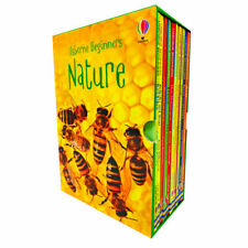 Usborne Beginners Nature Collection 10 Hardback Book Box Set (RRP £59.90) NEW