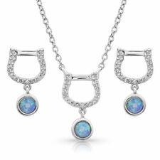 Montana Silversmiths Jewelry Womens Haloed Necklace Earrings Js3417