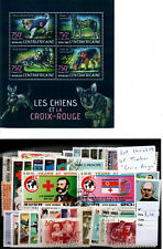 "Lot timbres thematique "" Croix Rouge """