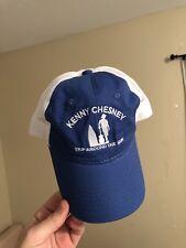 Kenny Chesney Trip Around The Sun Tour Hat Rare! Trucker Mesh Hat