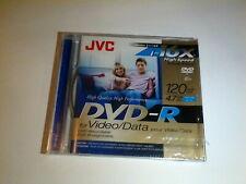 JVC DVD- R 1-16x High-Speed Disc for Video/Data