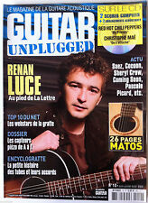 Guitar Part Unplugged n°10; Renan Luce/ Dossier Capteur Piézo/ Top 10 Webstars