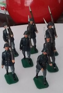 Britain's German Soldiers (not marked Britain's) x 7