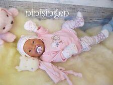 ninisingen Reborn reallife NEWBORN Alexandra Mädchen Puppe  Baby Vollvinylpuppe